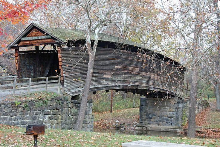 Humpback Covered Bridge in Covington, Va