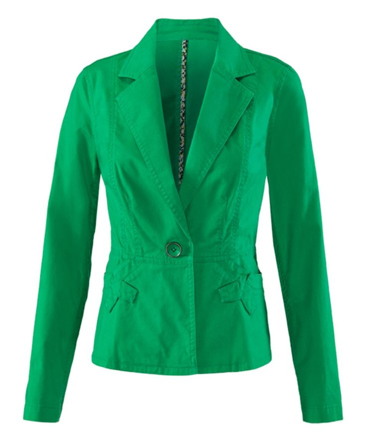 Take a look at this Jelly Bean Verde Jacket today!