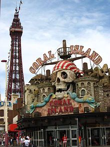 The Blackpool Tower is a tourist attraction in Blackpool, Lancashire in England which was opened to the public on 14 May 1894.