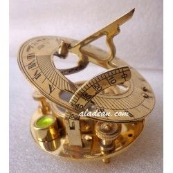 Magnetic Sundial Compass