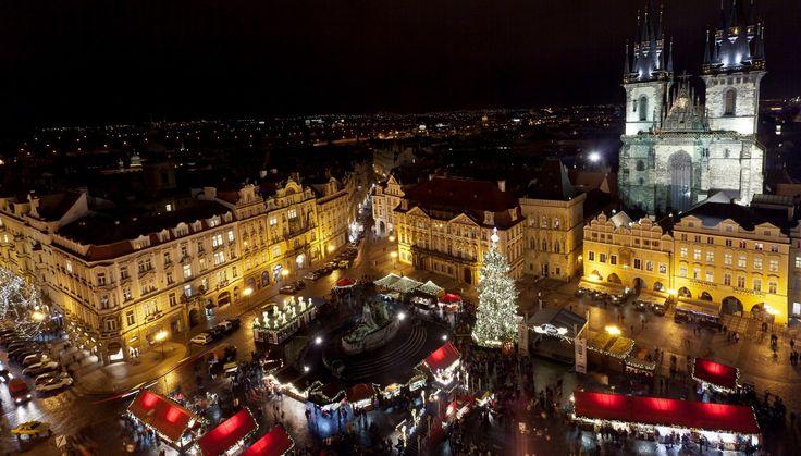 Los mejores mercadillos de Navidad de Praga
