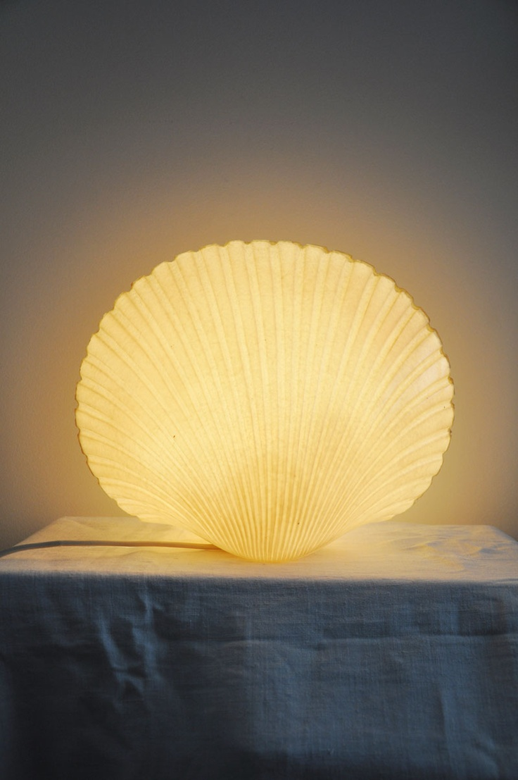 lampe andre Cazenave coquillage shell http://lampevintage.blogspot.fr/2013/01/lampe-andre-cazenave-coquille-saint.html