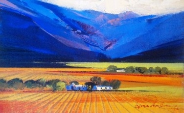 Autumn Vineyards - Alice Art Gallery