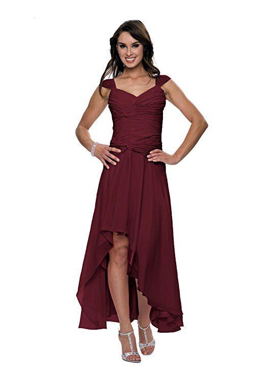 Damen Cocktail Kleid mit schönen Raffungen, Knielang. Perfekt für  Brautjungfern und die Trauzeugin auf einer Hochzeit zu…   ❤ Kleider für  Brautjungfern ... 21802ecd40