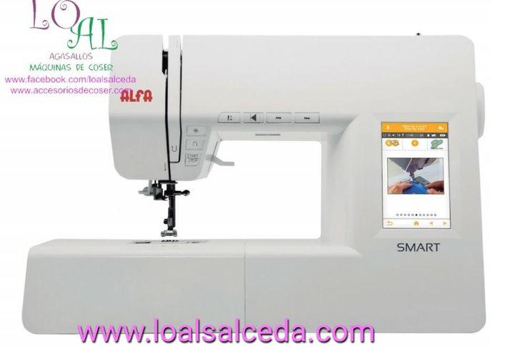 Máquina de coser alfa Smart, máquina de coser alfa