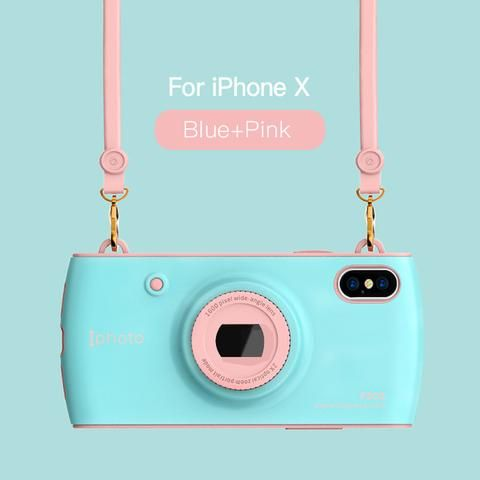 iPhone X Case With Camera Lanyard- Red,Blue,White,Pink   Awesome iPhone 10 iPhone X Apple Products link website cases awesome products shops store buy for sale website online shopping free shipping accessories  phone covers beautiful gifts ideas Mens Womens Buy Online Shopping Store Shop protective Free Shipping Best Cheap Bulk Wholesale Gift Ideas Cases Australia United States UK Canada Deals AuhaShop.com