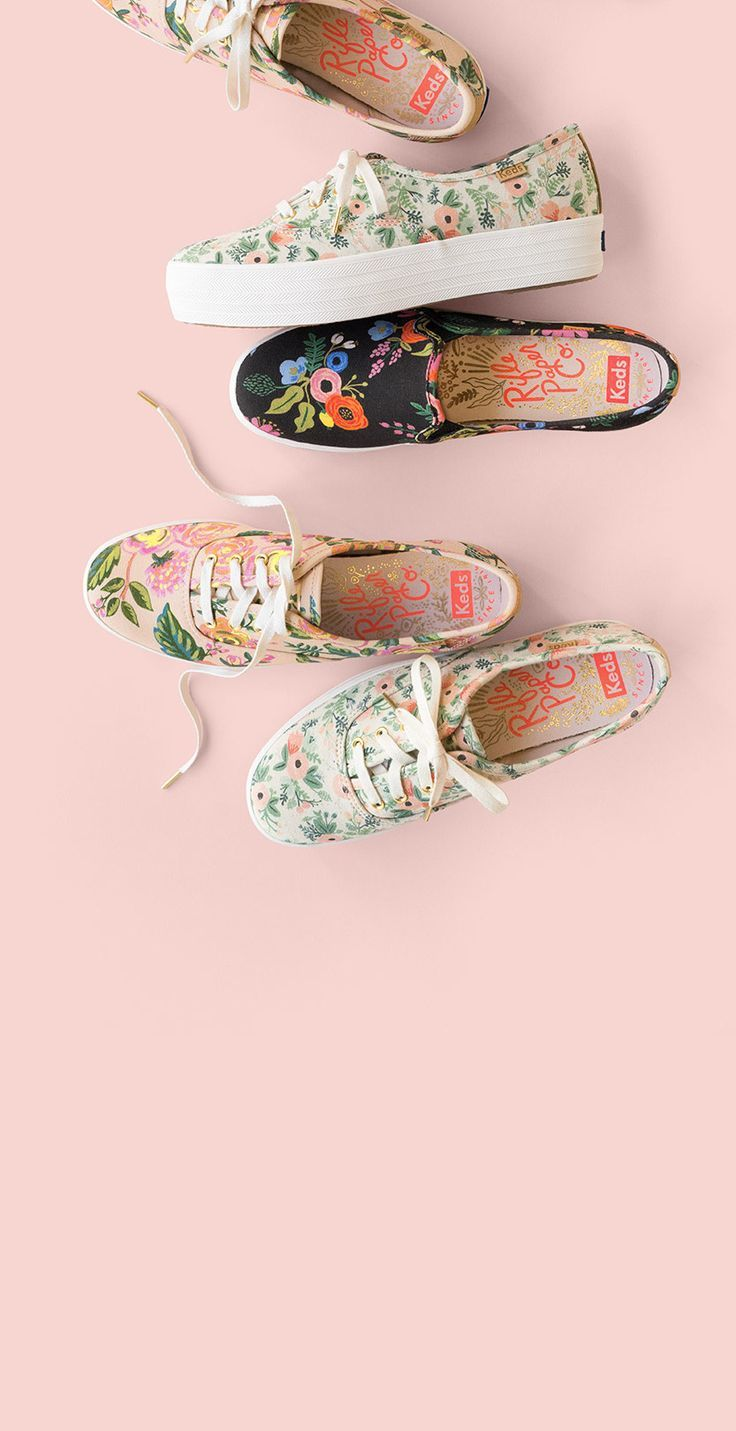 These are tennis shoes are so perfect for spring! Spring floral sneakers are the best!! Rifle Paper Co Keds are amazing! Check them out, they are the perfect spring shoes