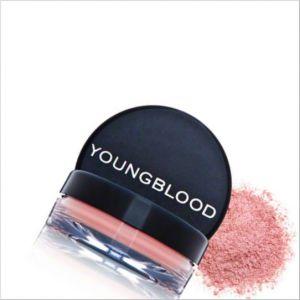 Toz Allık, Doğal Makyaj için YOUNGBLOOD PRESSED MINERAL BLUSH CORAL REEF (3g)