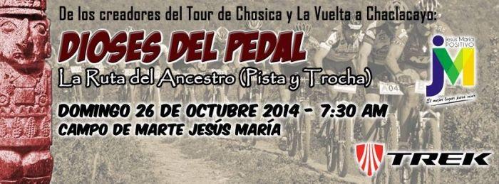 Evento: ciclismo pista y trocha la ruta del ancestro  26 de Octubre 2014 en Lima http://www.deaventura.pe/eventos-de-ciclismo/ciclismo-pista-y-trocha-la-ruta-del-ancestro- #DeAventura