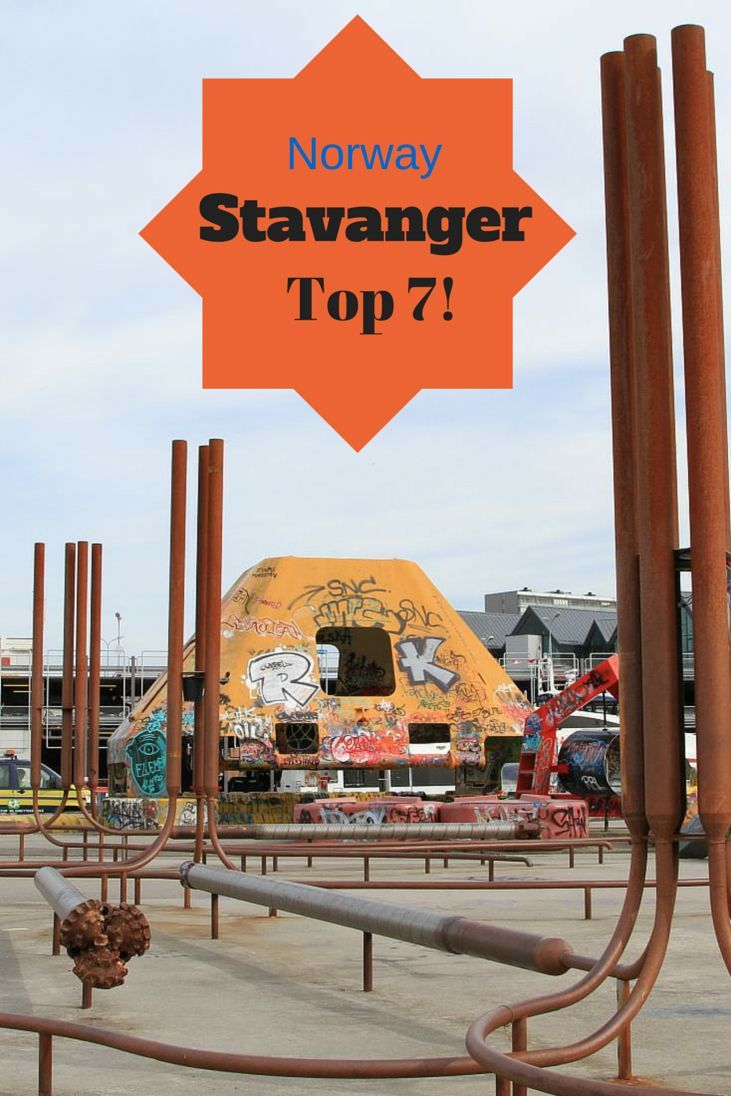 The Top 7 Things to do in #Stavanger, #Norway - For example what's up with the colorful park? Reflections Enroute