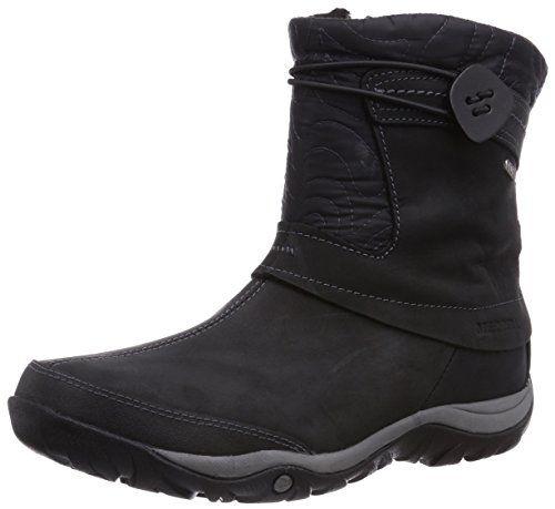 Merrell Eventyr Bond Wtpf Black, Schuhe, Stiefel & Boots, Hohe Boots, Schwarz, Female, 36