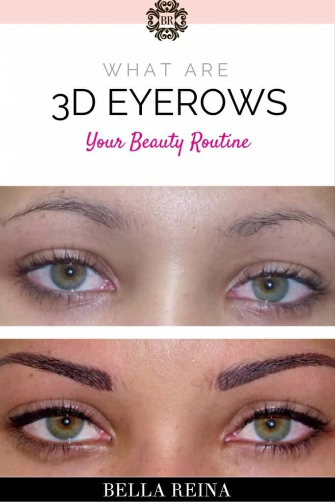 3D Eyebrow Tattoo (Eyebrow Embroidery)A revolutionary new semi-permanent makeup…