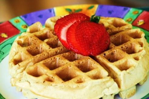 Spiced Vanilla Buttermilk Belgian Waffle | Bread of Life | Pinterest