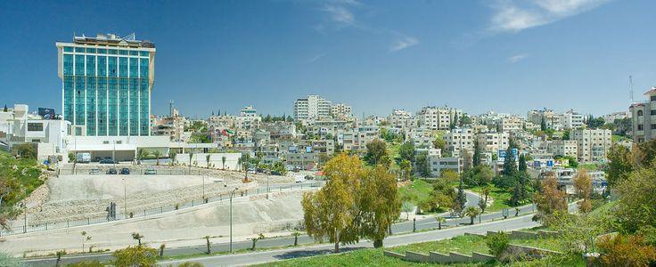 Amán, capital del país. // Landmark Amman Hotel panorama ◆Jordania - Wikipedia http://es.wikipedia.org/wiki/Jordania #Jordan