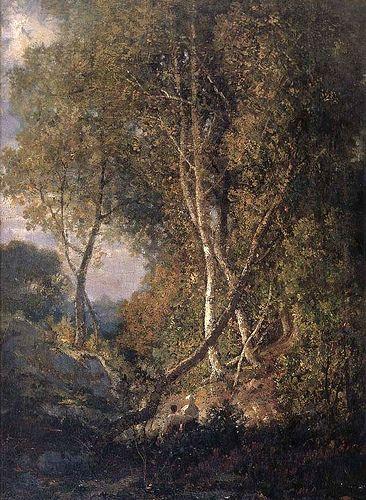 Grigorescu, Nicolae (1838-1907) - Landscape (National Art Museum of Romania, Bucharest)