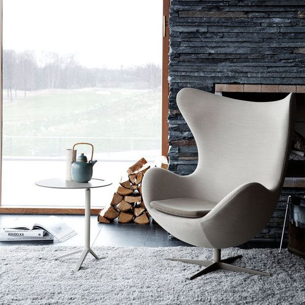 Arne Jacobsen: Jacobsen Egg Chair - Fritz Hansen Egg Chair designed by Arne Jacobsen - Danish Design Store