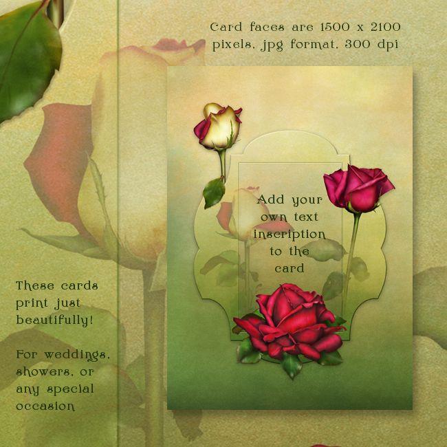 "Jaguarwoman's ""Summer Roses"" Cards"
