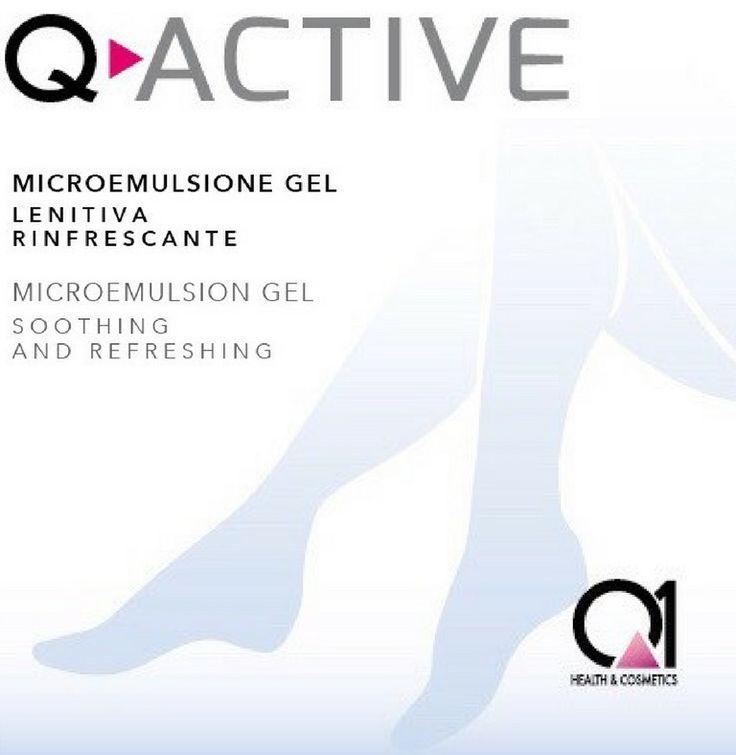 Q-ACTIVE Microemulsione decongestionante lenitiva rinfrescante