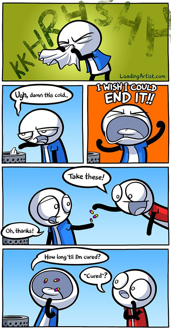 Ugh, damn this cold... click to view full comic!