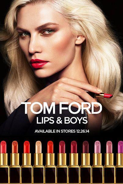 Lips & Boys lipsticks campaign by Tom Ford