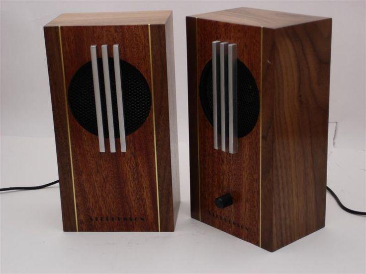 Art Deco Computer Speakers