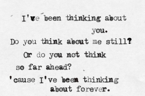 Frank Ocean - Thinking About You...I love this song!  Don't really listen to this type of stuff, but I admit I like it