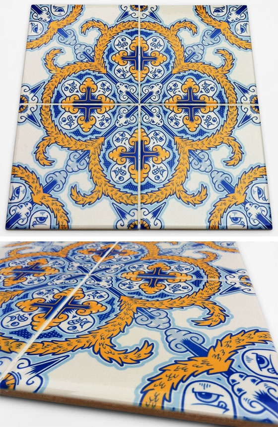 Want! Amazing Portuguese Tiles by Diogo Machado aka AddFuelToTheFire