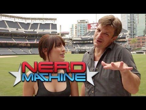 Nathan Fillion - Exclusive Interview - Nerd HQ (2013) HD - Alison Haislip