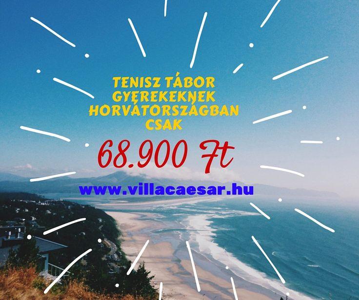 https://flic.kr/p/DBSbA5 | tenisz-tábor.jpg | Egy egész életre szóló élmények várják gyermekeit a #tenisztábor programunkban #Horvátországban.