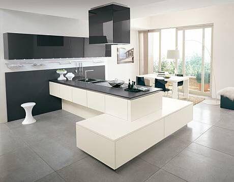 extraordinarios muebles de cocina en madrid asimetras y pennsula suspendida espectacular http