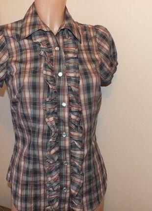 Kup mój przedmiot na #vintedpl http://www.vinted.pl/damska-odziez/koszule/11959229-koszula-w-krate-warehouse-6-34-xs