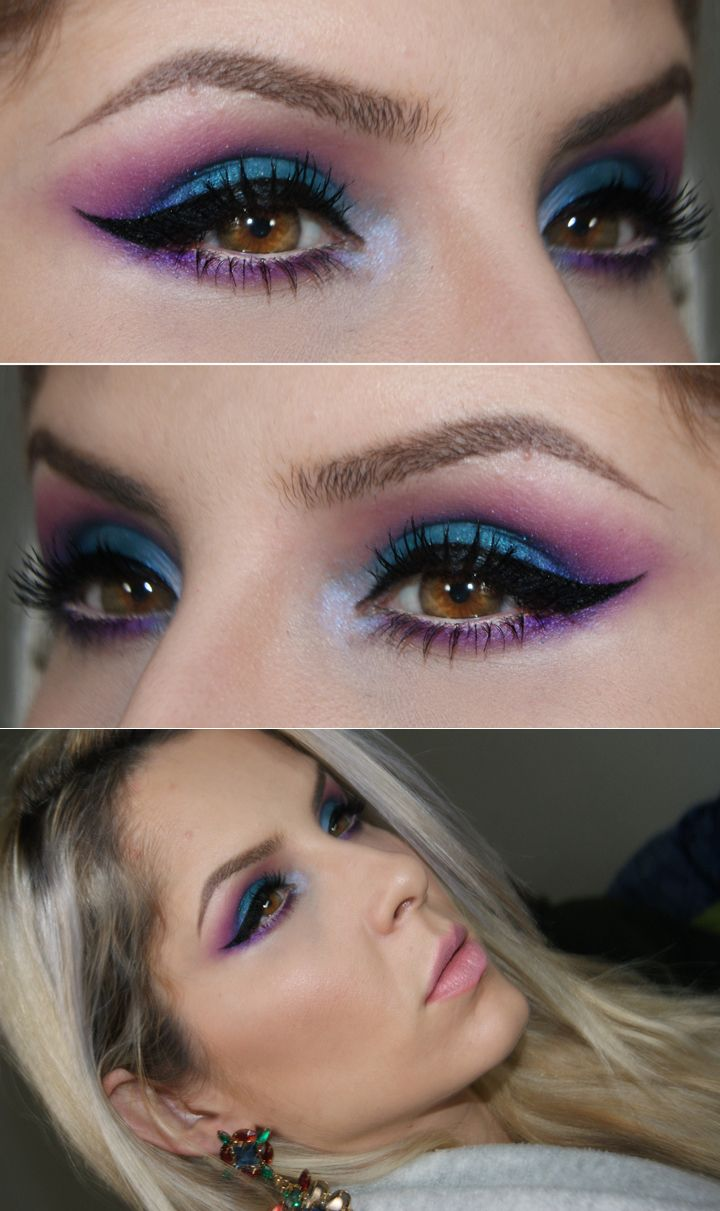 Using electric palette by urban decay