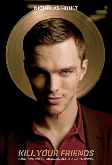 Nicholas Hoult no trailer do filme 'Kill Your Friends' - Cinema BH