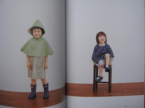 HANDMADE CLOTHES For CHILDREN  Japanese Pattern Book by pomadour24, $24.50