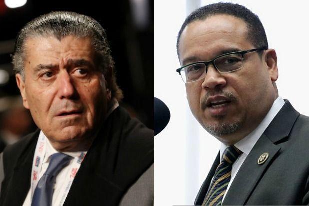 Haim Saban Calls DNC Chair Hopeful Keith Ellison 'Anti-Semitic'