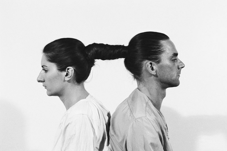 MARINA ABRAMOVIC  Relation in Time,  Black and white silver gelatin print mounted on dibond. 118,25x157,5x7 cm.  Edition of 7