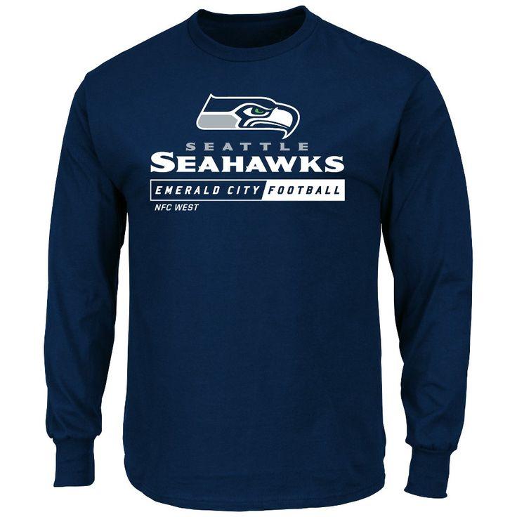 T-Shirt Seattle Seahawks Team Color Xxl, Men's, Multicolored