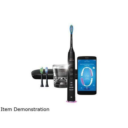Philips Sonicare HX9903/11 DiamondClean Smart - 9300 Series - Sonic Electric Toothbrush with Bluetooth and App - Black