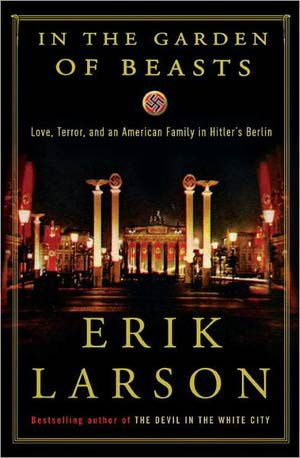 In the Garden of Beasts by Erik Larson - In a compelling historical narrative, Larson follows the first American Ambassador Dodd under the Nazi regime and his high-spirited daughter Martha as they observe the Pre-war changes in German society.  So well written, I felt like an invisible presence in their lives.  Challenge- nonfiction
