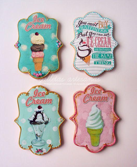 Vintage ice cream {Descarga gratuita}