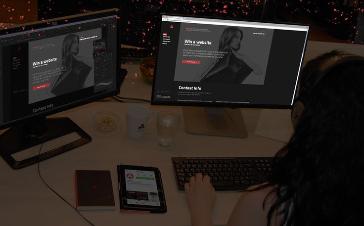 Work in progress on a fashion website concept. Visit http://www.saturized.com/fashion-competition/ and get one for yourself now! All you have to do is tell us your story and compete to win a free fashion website. #fashion #websitelayout #behindthescenes