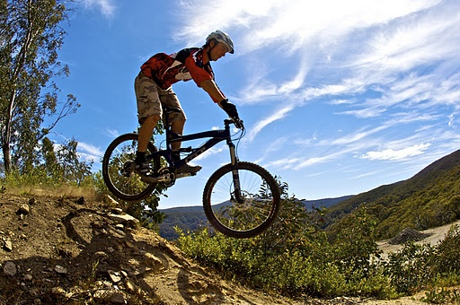 Extreme Mountain Biking in Victoria with Melbourne Private Tours