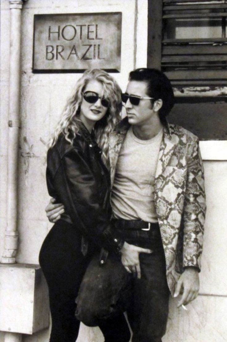 "James Hancock retweeted by Le Cinema ""Another great shot of Laura Dern & Nicolas Cage while filming 'Wild at Heart'"" (1990) dir by @DAVID_LYNCH"