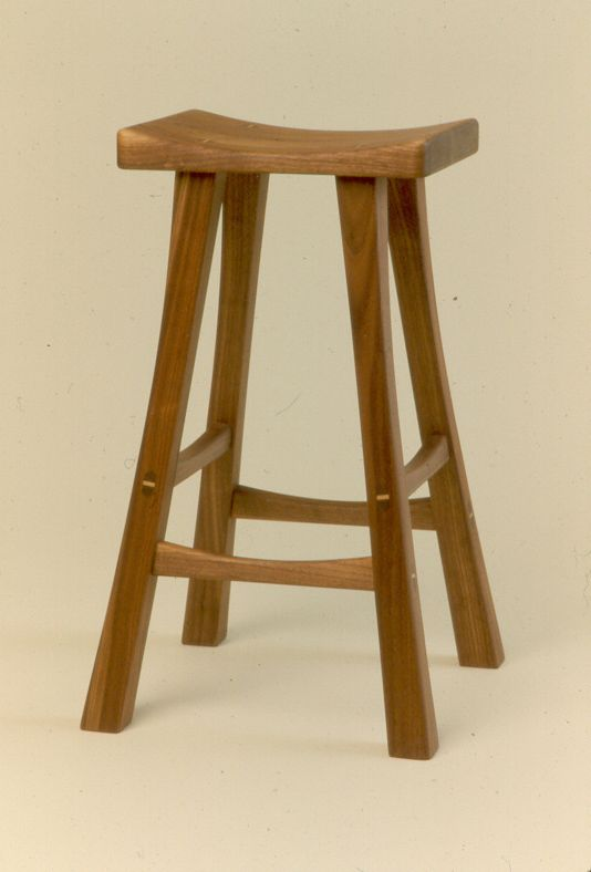 Gary Rogowski's custom stool. | Woodworking - Custom Seats ...