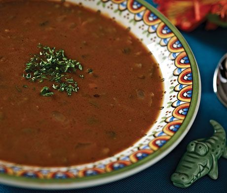Find the recipe for Treme (Mock) Turtle Soup and other beef recipes at Epicurious.com