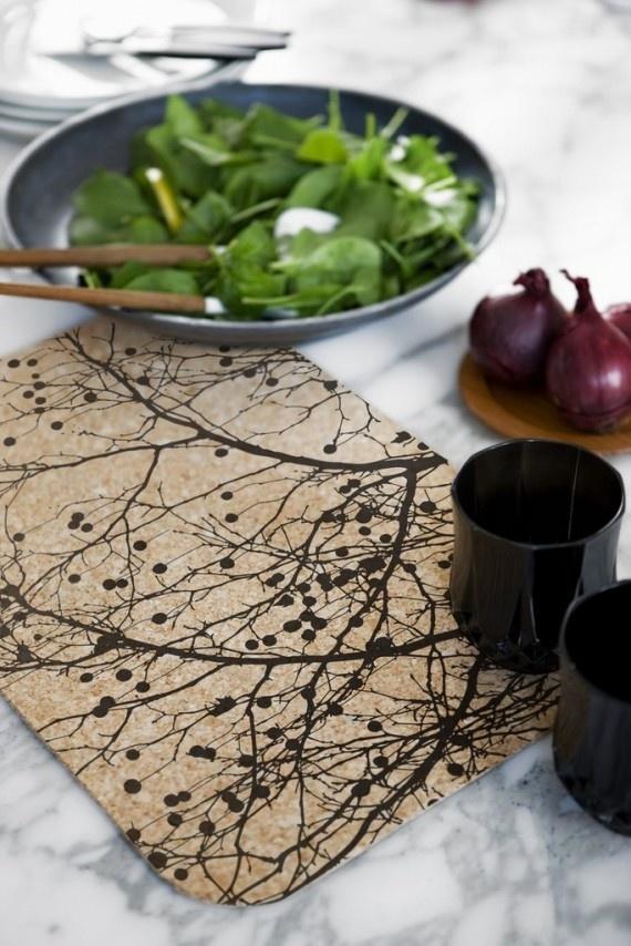 Love this placemat design! (via: 6 Steps to A Clean Placemat @BrightNest Blog)