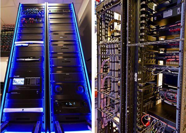 Technology tlc for av racks technology pinterest for Total home control