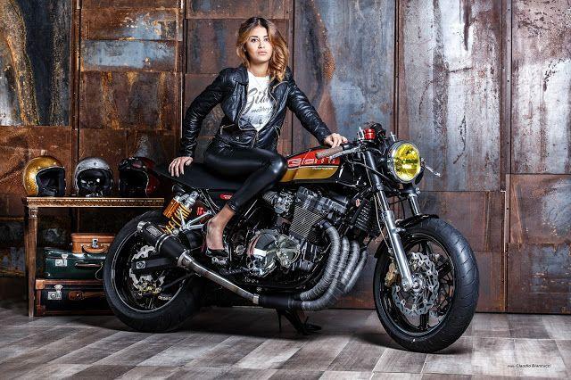 Special Motorcycles, Cafè Racer, Scrambler, Bobber, Custom, Tracker, Vintage, Racing: YouTube - Video Suzuki Inazuma 400 Cafè Racer * Th...