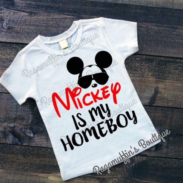 trendy boys shirt,Mickey is my homeboy shirt,trendy toddler shirt,humorous boys shirt,funny boys shirt,humorous toddler shirt, mickey  shirt by RagamuffinsPretties on Etsy https://www.etsy.com/listing/465824082/trendy-boys-shirtmickey-is-my-homeboy