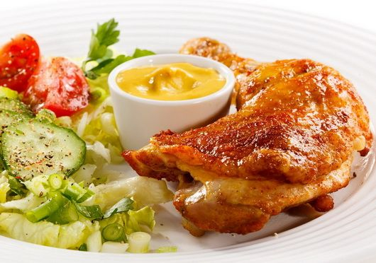 Жареная курица - Рецепты жареной курицы - Как правильно приготовить